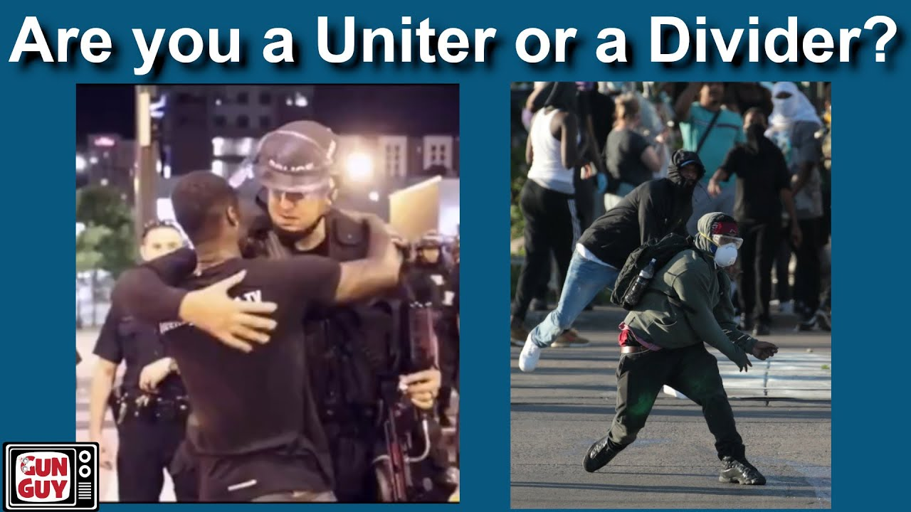 Are You a Uniter or a Divider - Bible lesson
