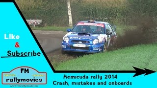 Hemicuda rally 2014 | crash, mistakes & onboards [HD]