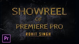 Premiere Pro Showreel Video Editing RS Production
