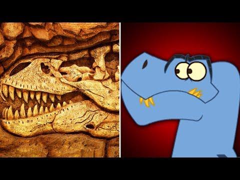 Dinosaur Fossil Hunting | Funny Dinosaur Cartoon for Kids | Educational Videos | I'm A Dinosaur