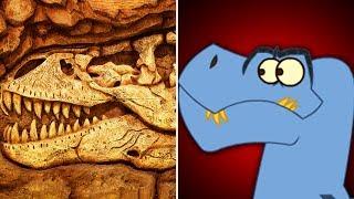 Dinosaurier-Fossil Hunting | Lustige Dinosaurier-Cartoon für Kids | Videos | ich bin Ein Dinosaurier