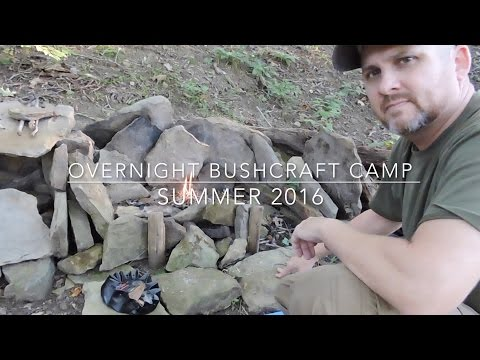 Overnight Bushcraft Camp | Summer 2016