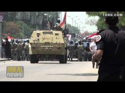 Protesters Flood Tahrir Square in Anticipation of Election Results