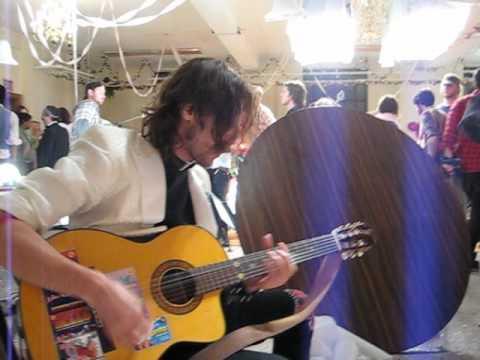 sing along w eugene hutz during a break gogol bordello