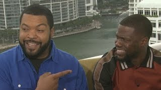 Kevin Hart Says He and Ice Cube Are 'Best Friends Forever'