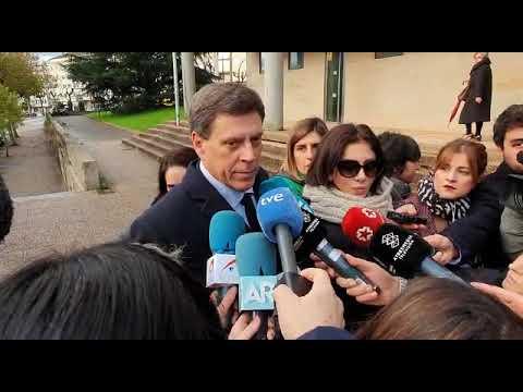 Juan Carlos Quer comenta la presencia de Valeria en el juicio