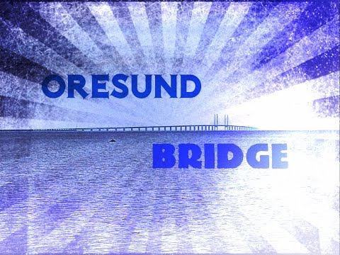 Oresund bridge - Cable stayed bridge - Denmark Sweden connection