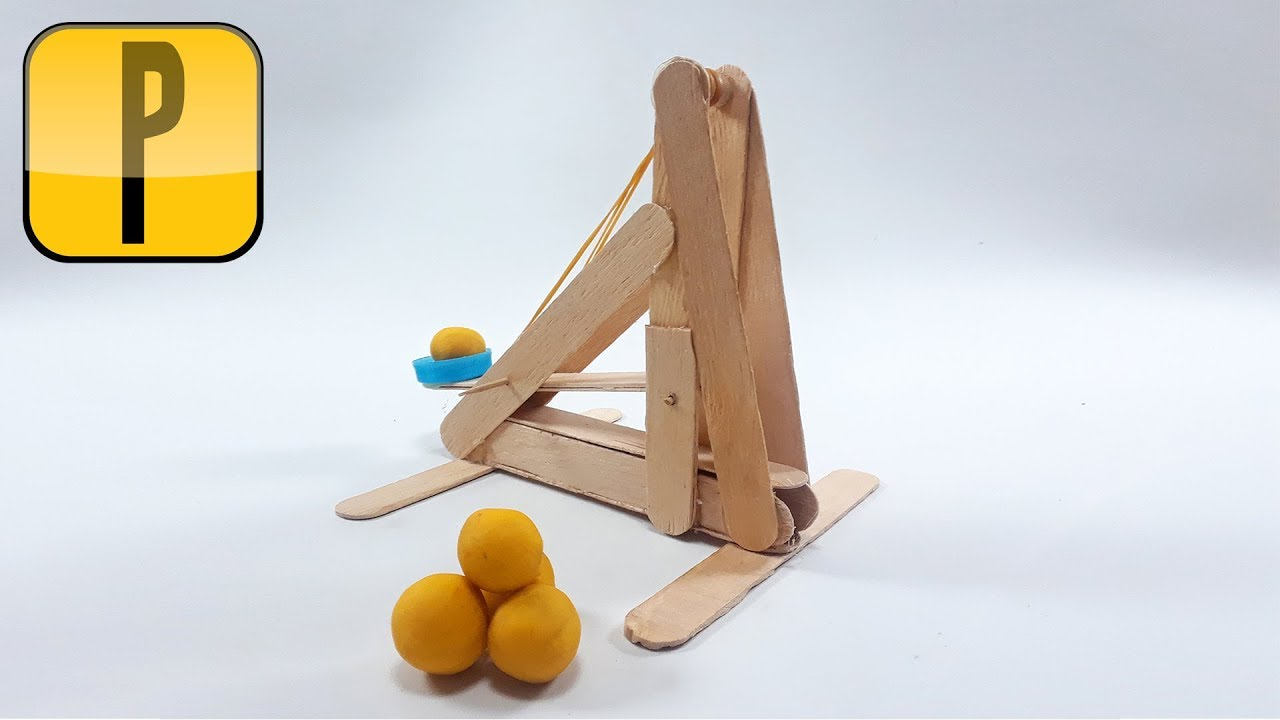 Build a Catapult S T E a M Projects for Junior Engineers Youtube