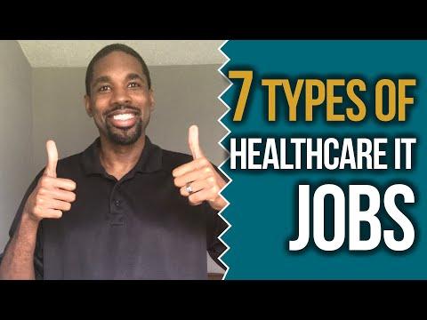 7 Types of Healthcare IT Jobs