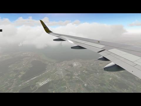 (X-Plane 11) Innsbruck to Zurich | Airbus A320-200!