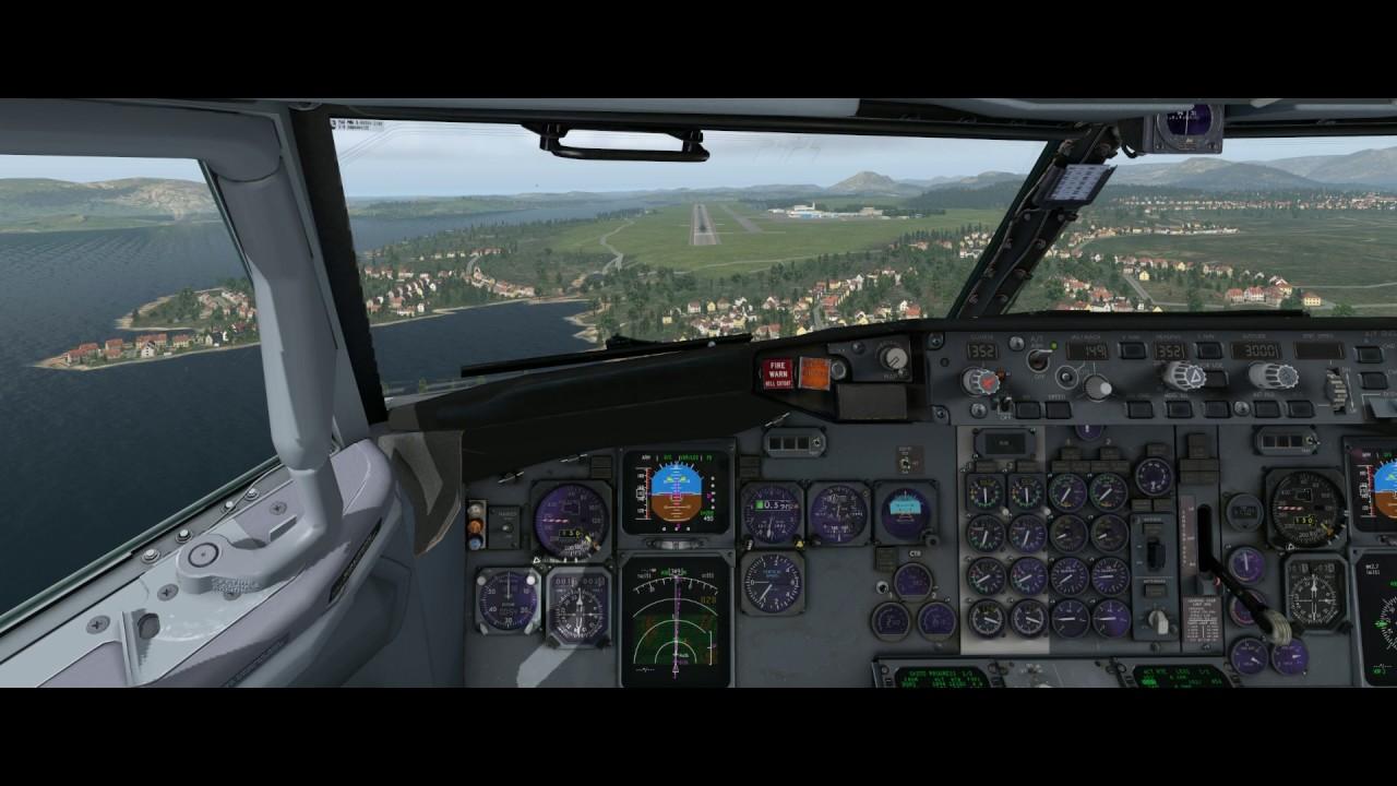 X-Plane 11 | IXEG 737-300 | ENBR Approach