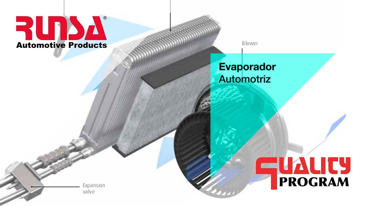 Principales fallas del evaporador