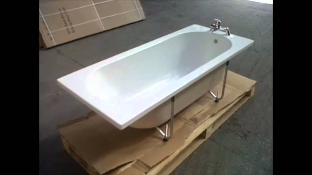 Mira 1500mm Standard bath with Stream Bath Filler Tap Clearance ...