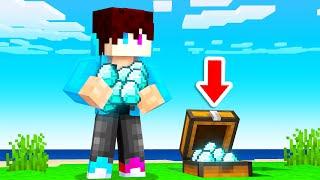 Ik Vond Een EILAND Met GEHEIME DIAMONDS! (Minecraft Raft)