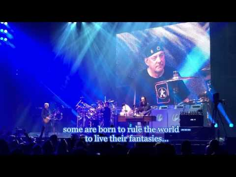 Rush: Losing it (live, with lyrics added)