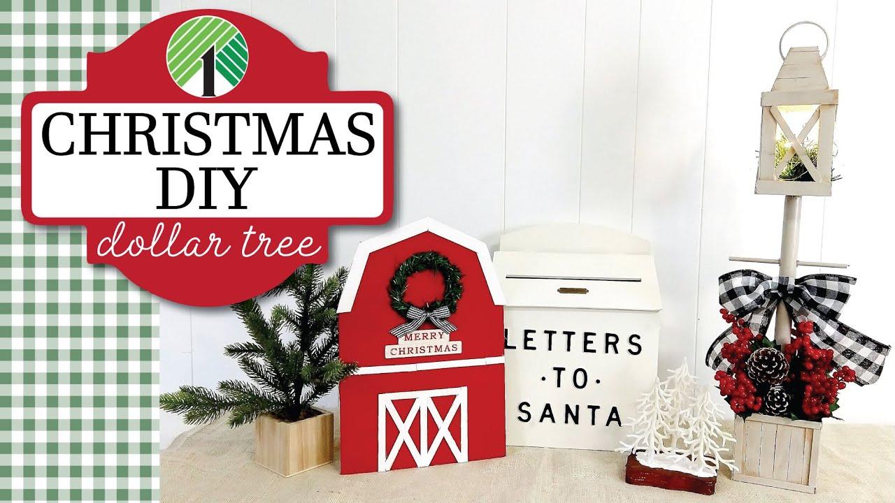 2020 Christmas Diys HIGH END Dollar Tree Christmas DIYs 2020 | Christmas in July 2020