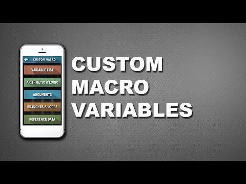 CNC Machinist Calculator - Macro variables