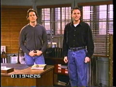 NBC series Wings Blooper reel from 1996 1997