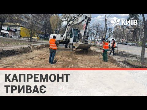 На вулиці Чорнобильській облаштували першу частину велодоріжки