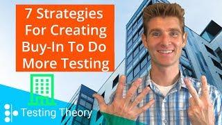 7 Strategien zum Erstellen von Organisatorischen Buy-in, Mehr zu Tun, A/B-Tests