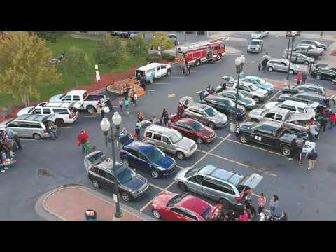 Ecorse Firefighters Trunk Or Treat 2018 Youtube
