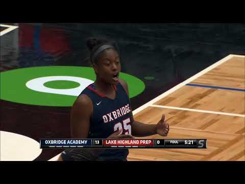 GIRLS BASKETBALL: OXBRIDGE ACADEMY VS. LAKE HIGHLAND PREP HIGHLANDERS, 5A STATE CHAMPIONSHIP