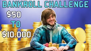 """Charlie """"epiphany77"""" carrel takes to twitch stream himself building a bankroll and teaching people poker strategy. check out all the highlights from his s..."""