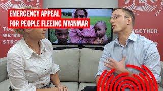 Update 7: Nicola Peckett at the DEC Emergency Appeal for People Fleeing Myanmar
