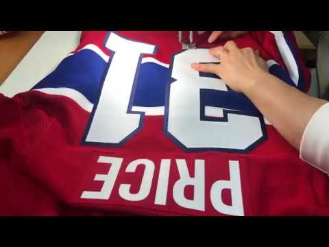 finest selection 667ce 2718a Carey Price Montreal Canadiens pro stitching adidas authentic jersey
