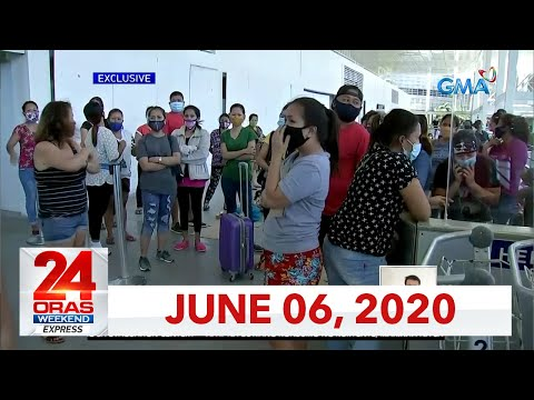24 Oras Weekend Express: June 6, 2020 [HD]