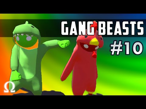 DON'T LET GO, CHAMPIONSHIP FIGHT! | Gang Beasts #10 Funny Moments ft. Delirious, Cartoonz, Bryce