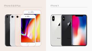 iPhone 8 vs iPhone X