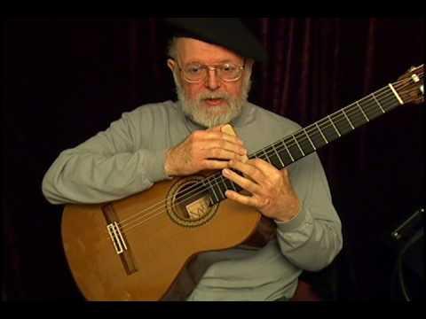 Jerry Roberts plays 1992 Ramirez 1a classical guitar 650mm
