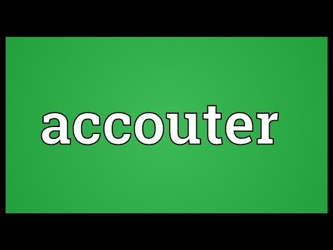 Header of accouter