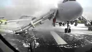 Airplane Fire at Chicago O