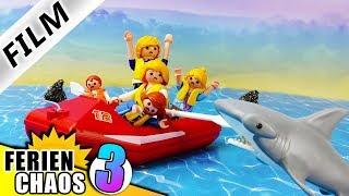 Playmobil Film deutsch | Familie Vogel als HAIFISCH FUTTER auf hoher See | Kinderfilm Ferienchaos 3