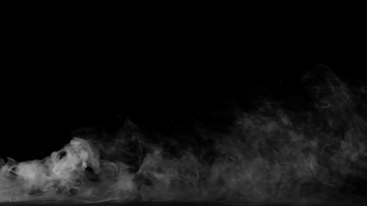 Smoke on black background 10 HD Humo sobre fondo negro 10 ...