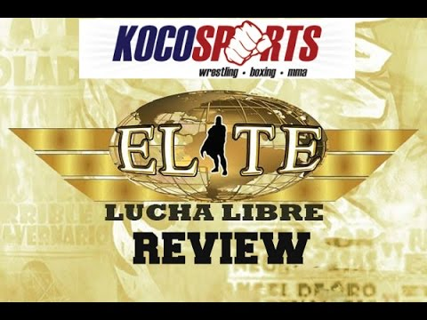 "KocoSports - ""Lucha Elite Review"" - 11/5/2016 - (Golden Magic, Silver King and Xtreme Tiger)"