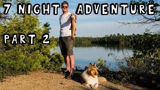 7 Night Wilderness Adventure With My Dog (Part 2 of 3)