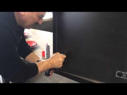 How To Repairfix Cabinet Footers Broken Latches Loose Door