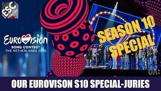 OUR EUROVISION 10 SPECIAL SEASON! JURY ANNOUNCEMENT (SEASON 3,4,7,8 JURIES)