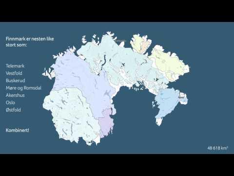 Hvor stort er Finnmark?
