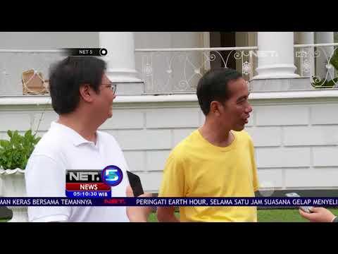 Presiden Jogging Bersama Ketua Umum Golkar - NET 5