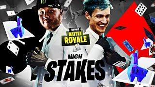 FORTNITE HIGH STAKES & NOVO CURINGA SKIN W/NINJA! | Destaques do Fortnite Battle Royale #126