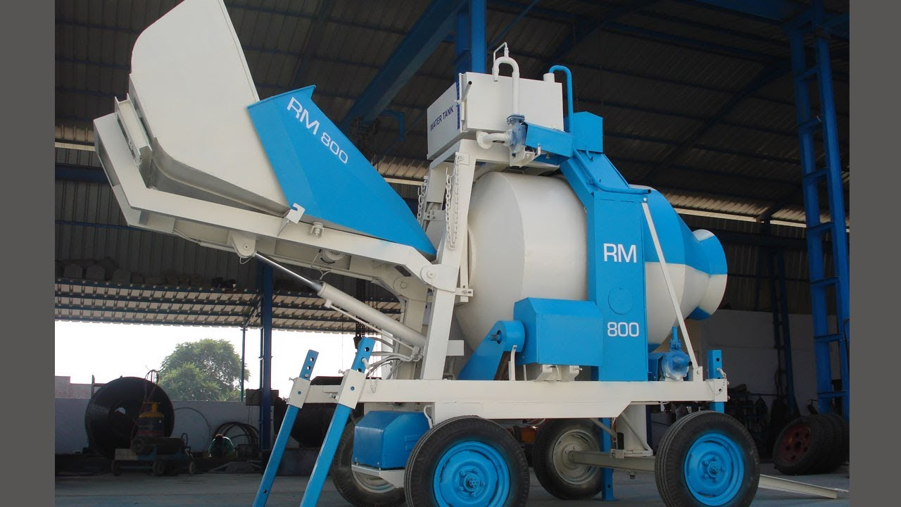 Mini Batching Plant : Mobile concrete batching plant video youtube
