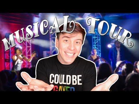 MUSICAL TOUR (Announcements Video) | Thomas Sanders