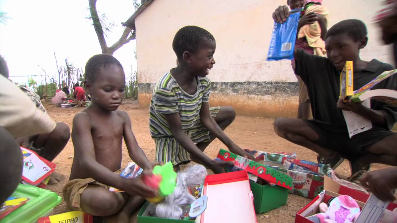 Zimbabwe Boy Excited About His Shoe Box - Operation Christmas ...