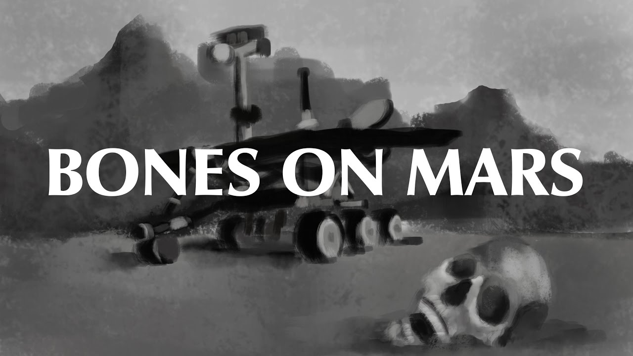 Bones on Mars - Have humanoid remains been spotted on the red planet?