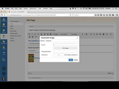 Coaches Console_Creating A Resources Page for Added Value To Clients