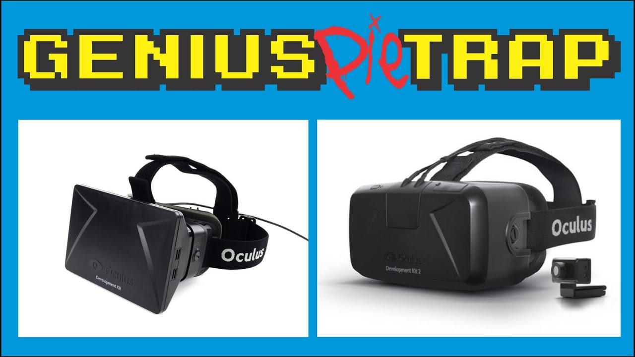 4c913463eff Oculus Rift DK1 vs DK2 Comparison - YouTube